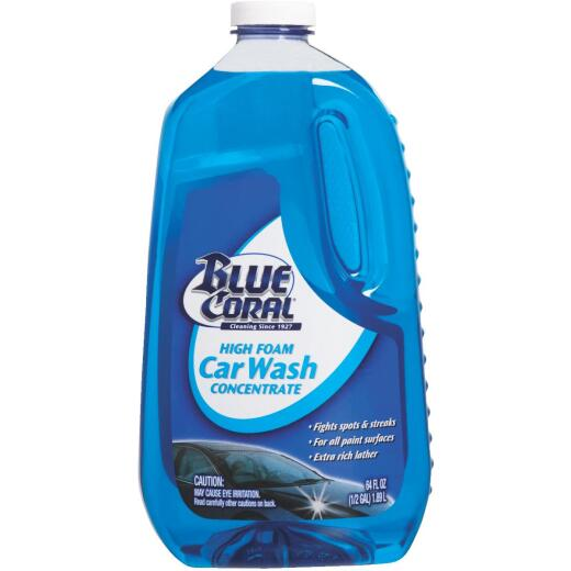 Blue Coral Liquid 64 oz Car Wash
